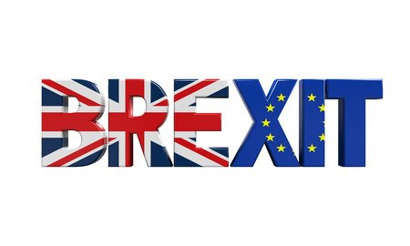 54182703 - brexit text isolated