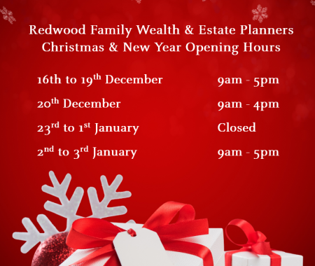 Our Seasonal Opening Hours