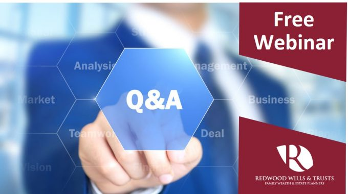Join Our Complimentary Ask The Expert Q&A