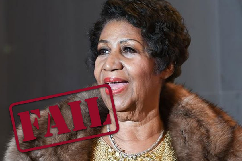 aretha franklin failed at estate planning